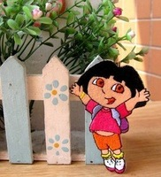 Dora Explorer Embroidered Iron On Patch Applique Badge Kids Children Cartoon Patch wholesale free shipping
