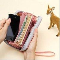 PU leather brand Orange/Black Clutch Bag  clutch handbag fashion clutch bag christmas gift Free Shipping