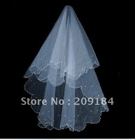Free Shipping Hot Sale 100% Gurantee Wholesale Retail Veils/Elegant Veils/wedding veils WZV15