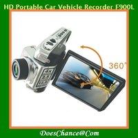 2.5'' 1080P HD Portable Car Vehicle Recorder F900L HD DOD 180 Wide Angles Lens