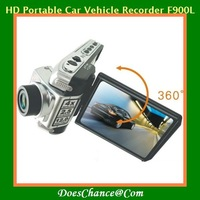 2.5'' 1080P HD Portable Car Vehicle Recorder F900L HD DOD 180 Wide Angles Lens