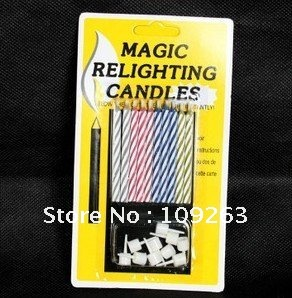 2012 new Magic Candle/ wholesale/H 200pcs/lot wholesaole(China (Mainland))