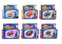 6pcs/lot beyblade spin top toy Battle Online metal fusion SUPER GYRO toys free shipping
