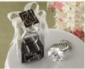 Free Shipping 50pcs/lot Wedding Favor Gifts Of Diamond Keychain,Wedding Giveaways Souvenirs,3 Color Wholesale