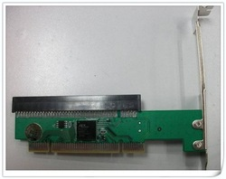 Free shipment PCI to PCI-E 16X adaptor (Insert the PCI-E card 32bit PCI motherboard slot)(China (Mainland))