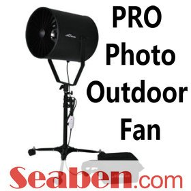Professional Outdoor Fan Photography Battery Wind Machine Blower Hair Shooting (213-002)