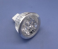 Free shipping 6pcs/lot 100% Cree led chip dimmable led MR16 AC85-260V 12W high power led spotlight LED Light