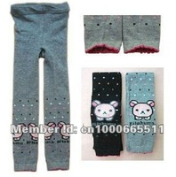 new arrive free shipping fashion kids children keep warm flexible trousers / pants