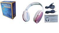 2012 New Fashion wireless Card Reader Headphone Sports MP3 Player FM Stereo Radio Headphone recharge 911
