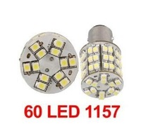 Car White 60 SMD LED Light Bulb Lamp