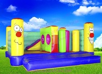 inflatable bouncer,obstacle, sports, factory price,fast delivery, with 1pccs CE/UL blowers