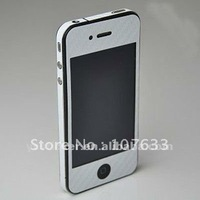 Freeshipping for iPhone 4G Full Body Carbon Fiber Skin Sticker