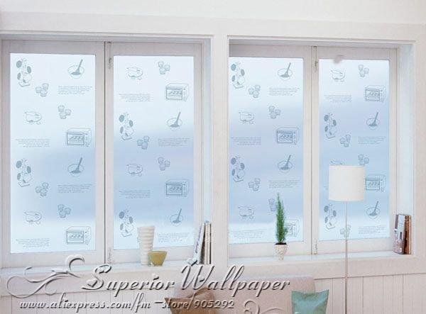 Beste Raamdecoratie Keuken : Kitchen Decorative Window Film