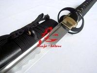 hand forged japanese katana sword cyclone tsuba sharpened sword