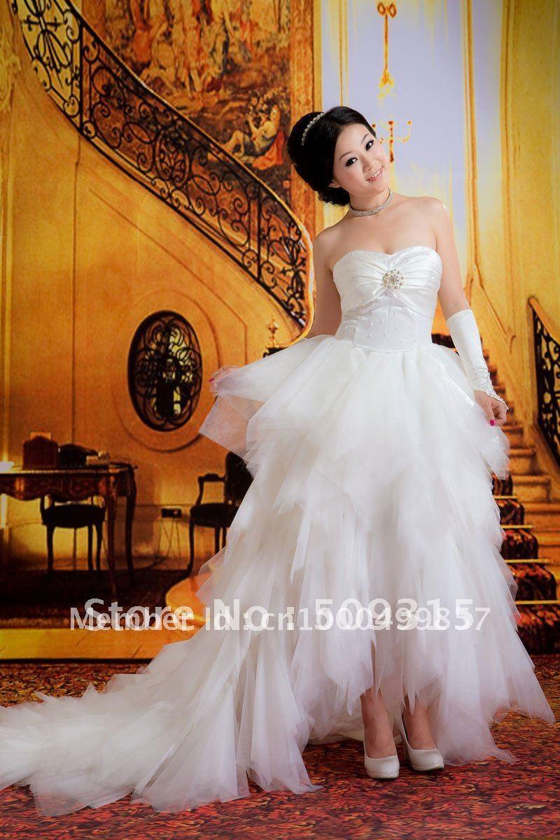 cap sleeve lace wedding dress