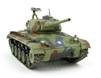 Finished product model/American M24 SafiloLight tanks/tanks model