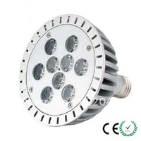 Free shipping high quality 9*1 W, 9 Watts E27 cool white/pure white/warm white, high power LED spotlights/LED bulb