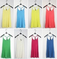 Free Shipping Fashion  women /girl tank top sleeveless  t shirt  sexy 12pcs/lot