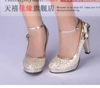 Free Shipping , wholesale and retail ! Ms. high-heeled shoes , wedding shoes , Ladies and shoes