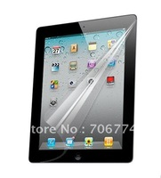 Screen Protector for ipad2 Clear LCD Screen film for ipad2 with retail packaging via DHL 50pcs/lot