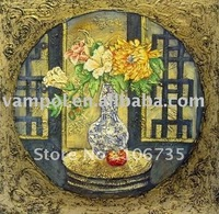 Classical still life pop art oil painting.Good for your life!