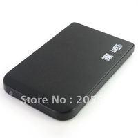 10pcs/lot  2.5' sata HDD usb 2.0 hard drive external box  #599