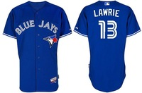 2012 New Toronto Blue Jays jerseys # 13 Lawrie Blue Football jerseys size 48-56