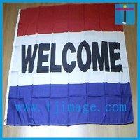 Football Team Message Flag