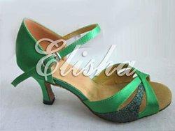 2012 neuesten stil frauen grün ballsaal salsa chacha latin tanzschuhe