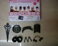 New Hairagami the Total Hair Makeover Kit Hair Design Set With Teaching DVD