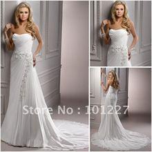 wholesale chiffon bridal dress