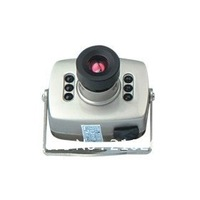 Free shipping Wired Mini CCTV Camera with Color CMOS Sensor