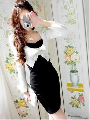 Женское платье 2012 spring summer new women's korea fashion casual cotton dress Lady dress twinset like cs-1849