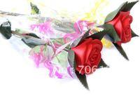 Fashion LED Rose For valentine's day Roses Night Light Romantic flower Gifts 98pcs free shippment