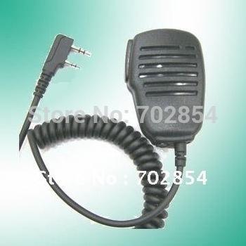 20pcs/lot Free shipping black KMC-21 microphone speaker for 2 way radio TK walkie talkie PX-777 TG-K4AT ZT-Q5  ZT-V68 TG-UV2