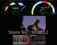 Free Shipping Bicycle gas nozzle lights, Tire wheel Valve lights, Colorful pairs of sense 10pcs/lot