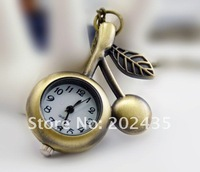 Freeshipping wholesale 20pcs/lot could mix different styles necklace cartoon pocket watch SL68 128 movement  DH509