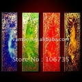China nature propylene group abstract oil painting by numbers