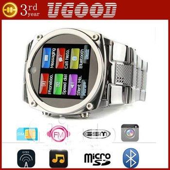 Steel watch mobile phones waterproof TW818