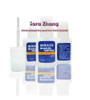10g Brush -On  NAIL GLUE  for False  Tips Nail Art Glue 50pcs/lot  Free shipping