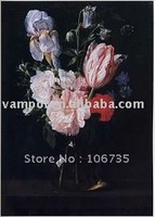 Canvas sizes hand painted still life flowers art paintings