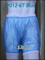 Guaranted 100% 3 pieces ADULT BABY incontinence PLASTIC PANTS Transparent P012-6T+Full Size:M/L/XL#