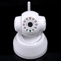 Free shipping Security Wireless WiFi IP Camera IR Night Vision P/T