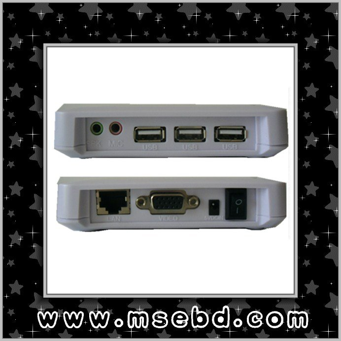 Thin Client PC Station T700 with 3 USB net computer Share 1 PC with at least 30 Users Computer(China (Mainland))