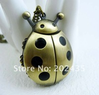 Freeshipping wholesale 20pcs/lot could mix different styles necklace cartoon pocket watch SL68 128 movement DH557