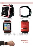 Free Shipping DHL 10pcs For ipod Nano 6 Aluminum Joyroom Q10 JOY ROOMWatch Kits Band Wrist Strap Tiktok-Touch Watch Kits Case
