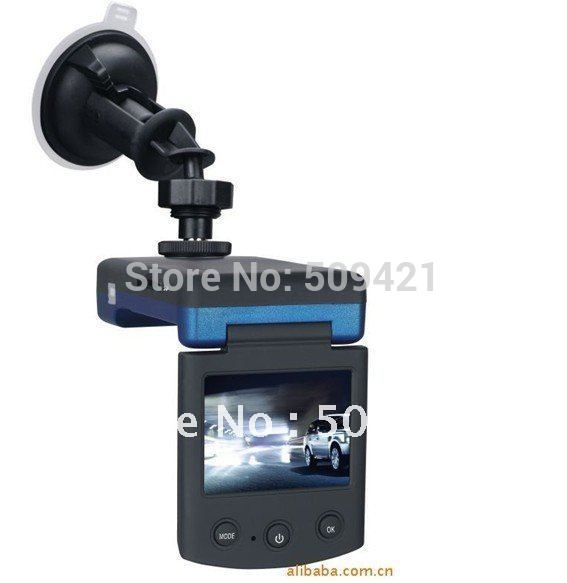Автомобильный видеорегистратор 2012 Brand new 720P HD, 10 IR LED, 2.4 inch screen, 360 rotation, 8X digital zoom, P7000
