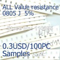 100PCS/Lot  R0805   10K OHM   Chip resistor 0805(2.0x1.25mm) 2012 Tolerance : 5%  RoHS compliant