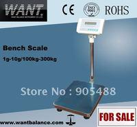 Electronic Bench Scale Balance--100kg/1g