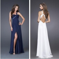 Ultimatedly White Evening Gown touch of sparkle cheap prom dresses under 100
